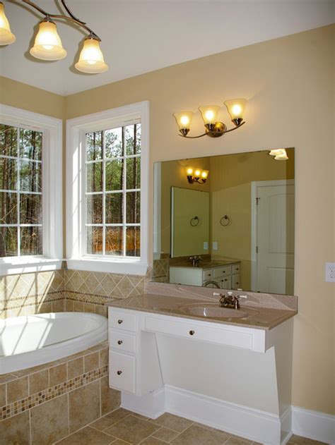 wheelchair accessible vanity houzz