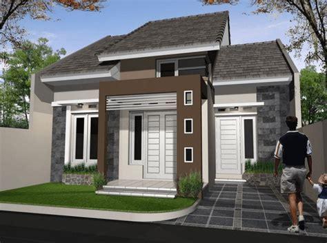 desain rumah cantik  batu alam sinergi stone