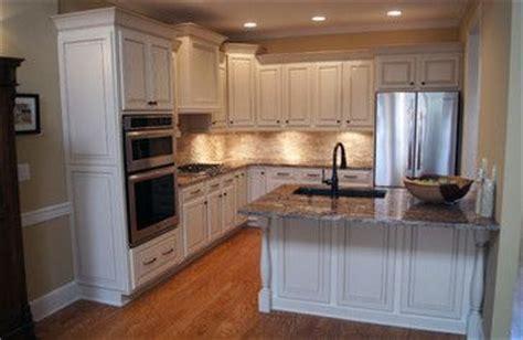 kitchen cabinet side panels builder grade side panels and light rail on pinterest