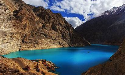 Lake Attabad Hunza Valley Nagar Tourism Pakistan