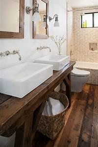 Waschtisch Aus Holz Fr Aufsatzwaschbecken Bauen