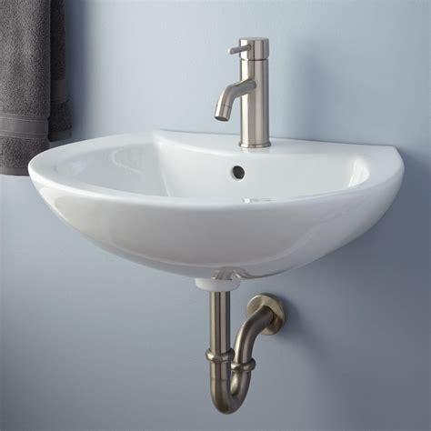 kitchen sink faucet maisie porcelain wall mount bathroom sink bathroom