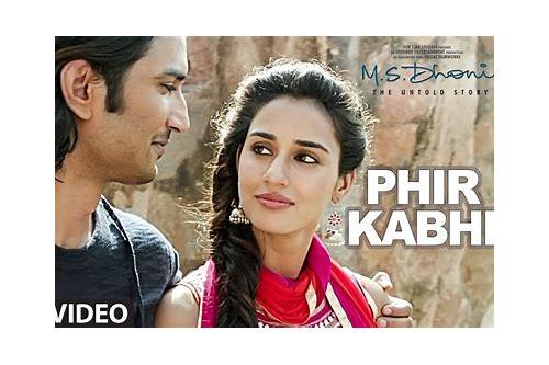baixar phir kabhi música mp3 ms dhoni