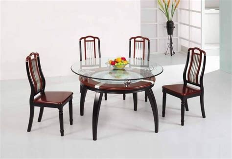Glass Dining Table Sets by 20 Ideas Of Wooden Glass Dining Tables Dining Room Ideas