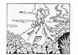 Coloring Tsunami Pages Volcano Hurricane Edupics sketch template