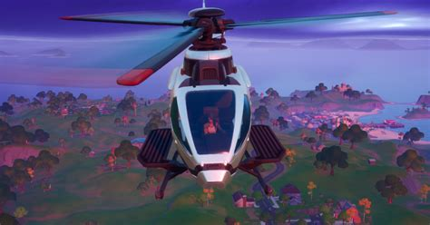fortnite patch adds helicopters  spawn  helipads