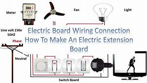 Electric Board Wiring Diagram