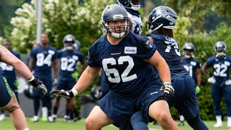 seahawks  roster moves  day    training camp