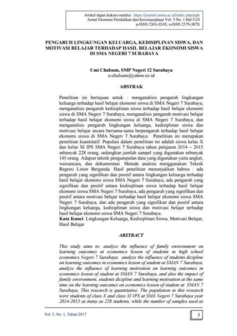 Vol 5 no 1 artikel 1 by JURNAL EKONOMI PENDIDIKAN DAN