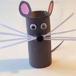 Bricolage A Faire Avec Des Petit : petite souris grise pas verte bricolage rouleaupq ~ Melissatoandfro.com Idées de Décoration