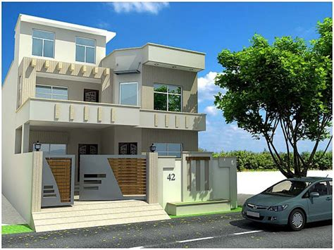 Home Design Upload Photo : Modern Elevation Of Houses