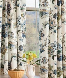 jacobean floral lined rod pocket curtains country curtains 174 keep