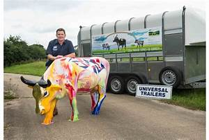 Designer Cows On The  U2018moove U2019 Thanks To Top Trailer Firm