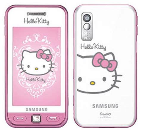 hello kitty phone samsung e2210 hello kitty phone debuts slashgear