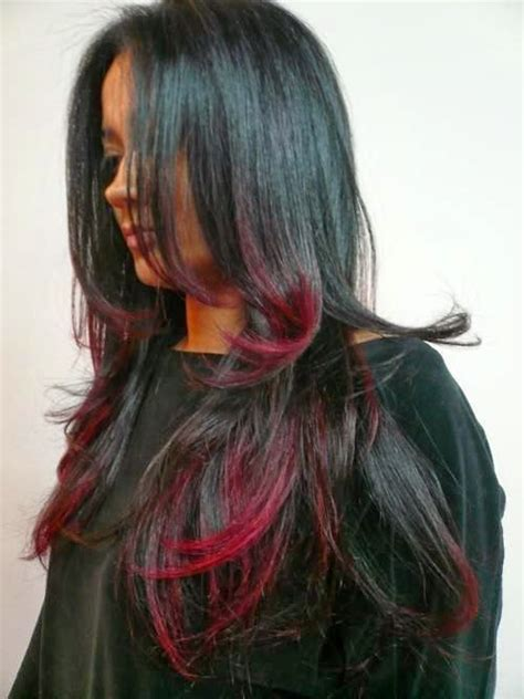 5 Black Red Hair Color You Must Consider