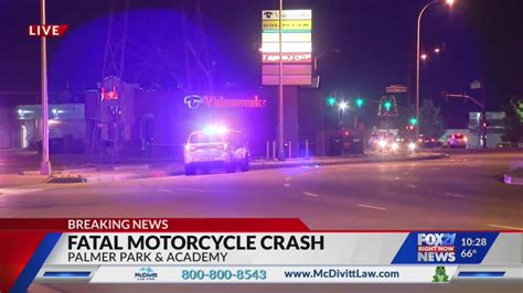 Deadly Motorcycle Crash At Palmer Park And Academy