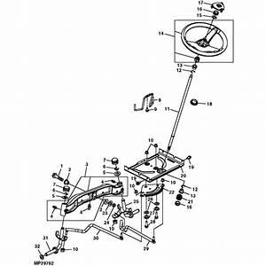 John Deere G110  L100 Series Steering Parts