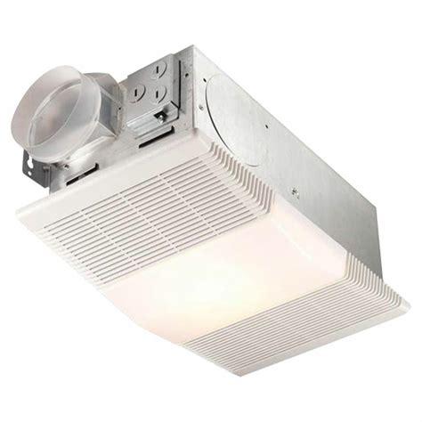 broan nutone rp bathroom ventilation fan  light
