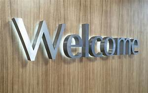 Built up lettering 3d for Stainless steel letters buy online