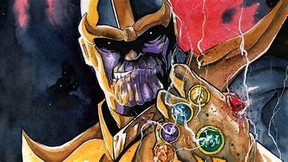 Thanos Gauntlet Infinity Comics Avengers Marvel War
