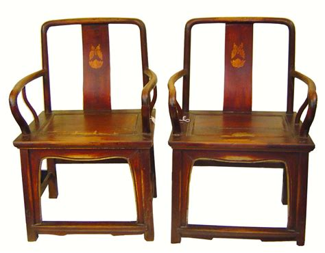 authentic antique arm chairs pair for sale