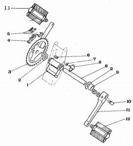 Bicycle Pedal Parts