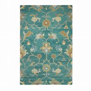 Home Decorators Collection Montpellier Teal 7 ft. 9 in. x ...