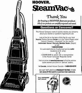 Hoover F5875900 User Manual Steam Vac Manuals And Guides