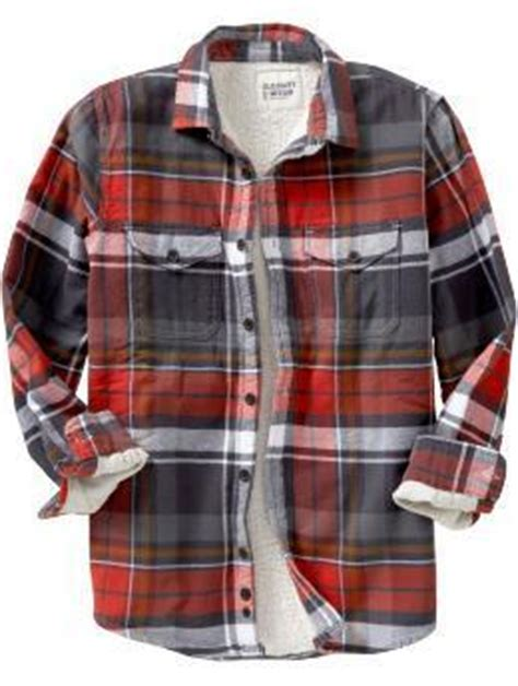 usaveiwin  navy mens sherpa lined flannel plaid shirt  nwt