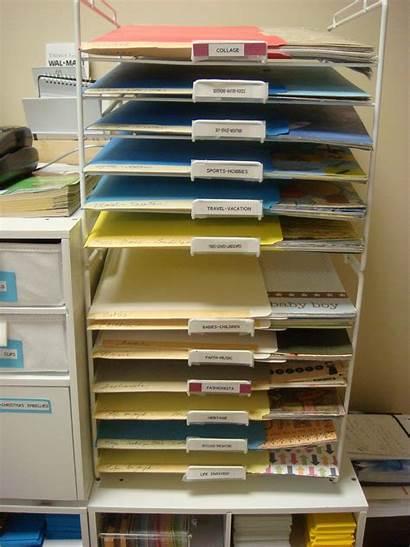 Paper Storage Cardstock Craft Wire Organization Inch