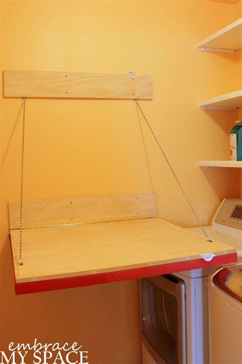 hometalk fold  laundry room folding table
