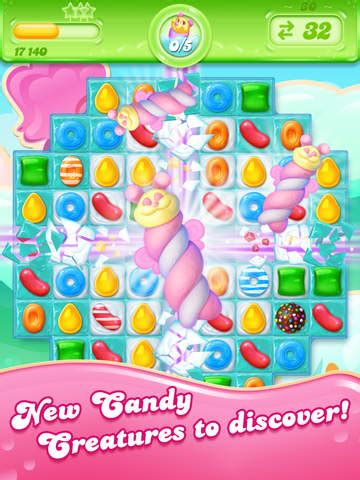 candy crush jelly saga game review   play