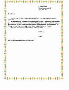 Informal, Letter
