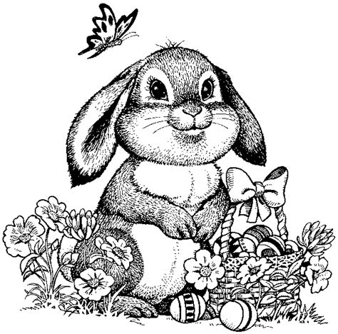 easter bunny coloring pages for adults ronieronggo