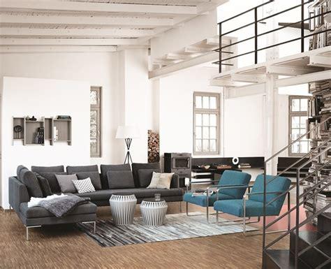 wohnzimmer industrial living room dusseldorf by