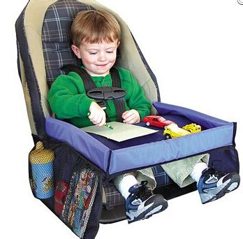 doll booster seat for table children toy tray child car seat tray waterproof storage