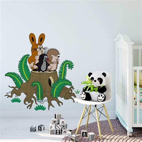 Wandtattoo Kinderzimmer Kleiner Maulwurf by Wandtattoo Maulwurf Hase Igel Lustige Deko F 252 R Zuhause