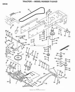 Ayp  Electrolux T12542d  1996  Parts Diagram For Drive  Belt