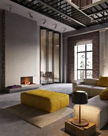 Living Room Design Ideas Exposed Brick Image
