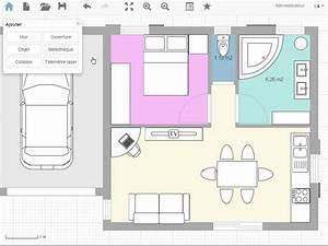 plan de maison et plan d39appartement gratuit logiciel With application dessin plan maison