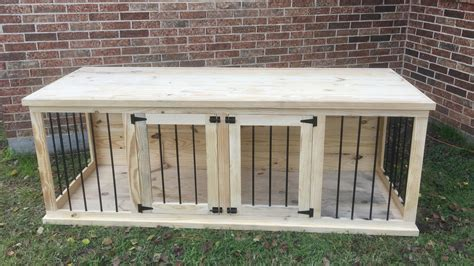 plans  build   wooden double dog kennel size large dogkennel  master bath closet