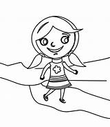 Coloring Walking Little Baby Illustration Cute Adult Drawn Happy Preview Dreamstime sketch template