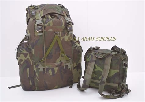 Italian Army Alpine Rucksack Bergen With Frame +removable