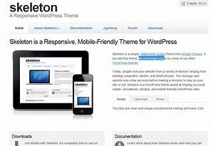 20 plantillas web gratis responsive web design para for Skeleton responsive template