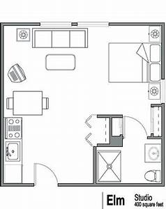 Floor plan idea 400 sq ft basement apartment pinterest for 400 sq ft apartment floor plan