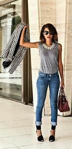 Tenue Femme Classe : 1001 comment s 39 habiller au printemps id es tenue chic ~ Farleysfitness.com Idées de Décoration