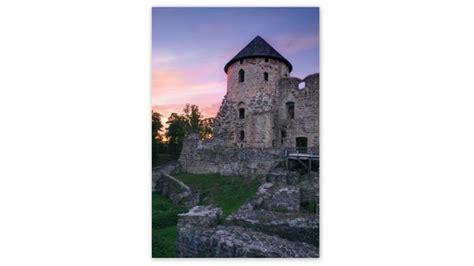 Cēsu Viduslaiku pils Rietumu tornī notiek konservācijas un ...