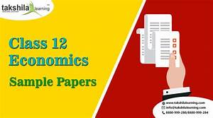 Cbse  U0026 Ncert Free Sample Papers Class 12 Economics