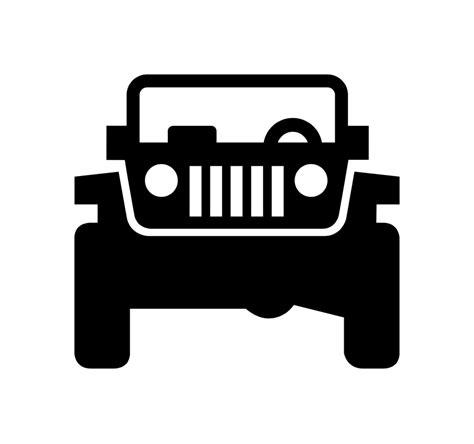 jeep logo transparent white jeep logo