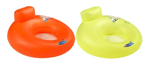 siege gonflable piscine siège gonflable kerlis 2 hamacs orange vert piscine